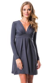 Платье с глубоким v-образным вырезом Mondigo