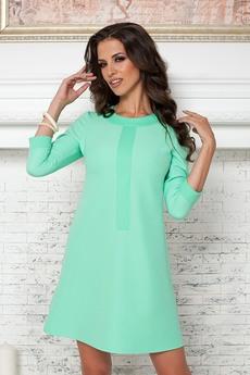Платье ментолового цвета Angela Ricci