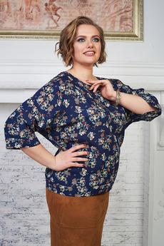 Блуза из штапеля Angela Ricci