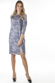 Серое повседневное платье Bast