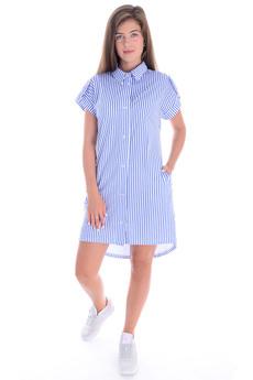 Новинка: туника-рубашка в полоску Malina