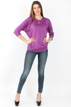Блузка цвета фуксии Bast